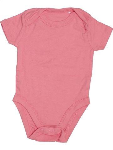 T-shirt manches courtes fille LILY & DAN rose 6 mois été #1439931_1