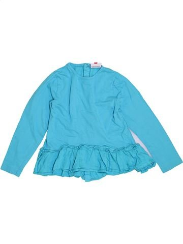 T-shirt manches longues fille TOPOLINO bleu 7 ans hiver #1440011_1