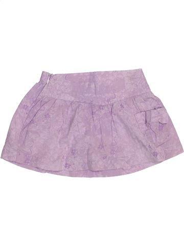 Jupe fille CREEKS violet 18 mois été #1440585_1