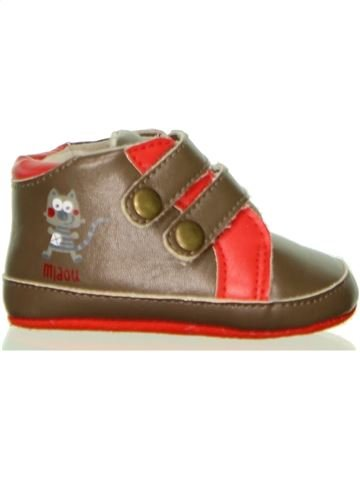 Zapatos bebe niño ORCHESTRA marrón 9 meses invierno #1440786_1