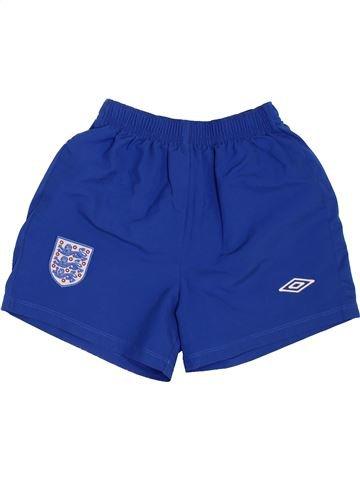 Pantalon corto deportivos niño UMBRO azul 7 años verano #1441528_1