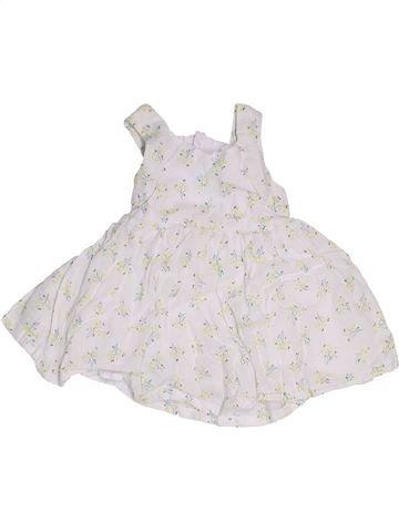 Robe fille KIABI blanc 3 mois été #1442321_1