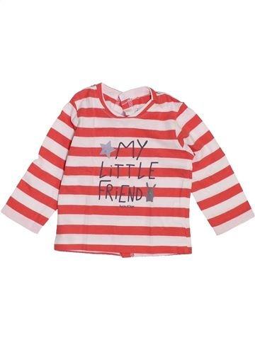 Camiseta de manga larga niño SUCRE D'ORGE rojo 6 meses invierno #1442635_1