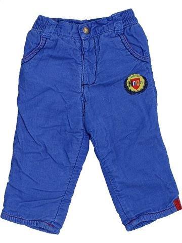 Pantalon garçon ORCHESTRA bleu 6 mois hiver #1442708_1