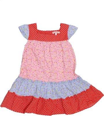 Vestido niña BLUEZOO rosa 2 años verano #1443194_1