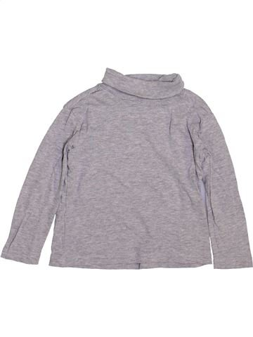 T-shirt col roulé garçon VERTBAUDET gris 3 ans hiver #1443549_1