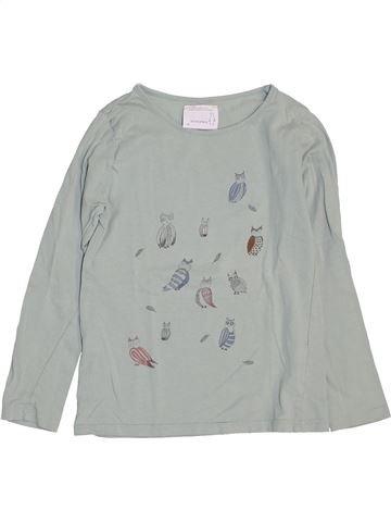 T-shirt manches longues fille MONOPRIX gris 8 ans hiver #1443629_1