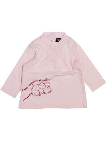 T-shirt manches longues fille TOUT COMPTE FAIT blanc 3 mois hiver #1443846_1
