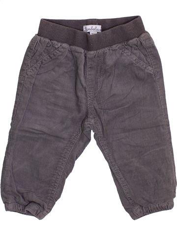 Pantalon garçon KIMBALOO gris 6 mois hiver #1444123_1