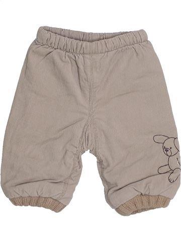 Pantalon garçon VERTBAUDET gris 3 mois hiver #1444165_1