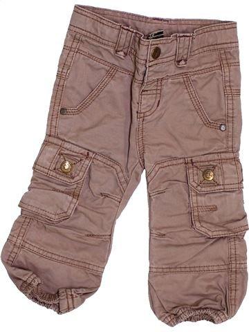 Pantalon garçon TAPE À L'OEIL marron 12 mois hiver #1444357_1