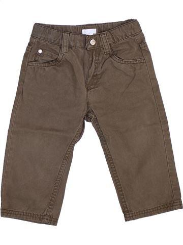 Pantalon garçon OKAIDI gris 12 mois hiver #1444446_1