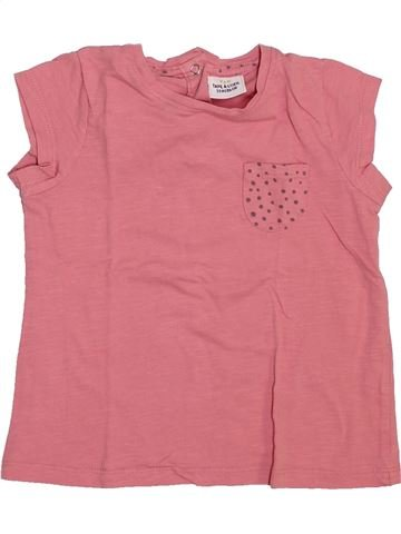 Camiseta de manga corta niña TAPE À L'OEIL rosa 2 años verano #1444530_1