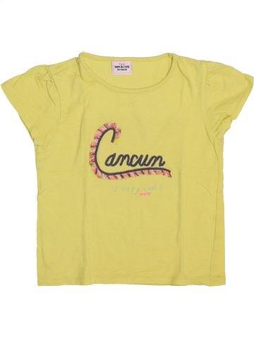 Camiseta de manga corta niña TAPE À L'OEIL amarillo 3 años verano #1444535_1