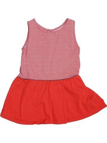 Robe fille OKAIDI rouge 2 ans été #1444537_1