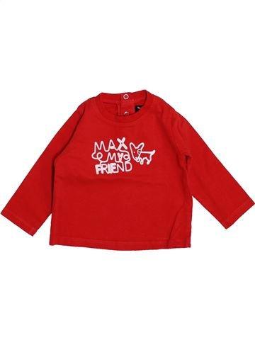Camiseta de manga larga niño TOUT COMPTE FAIT rojo 6 meses invierno #1444557_1