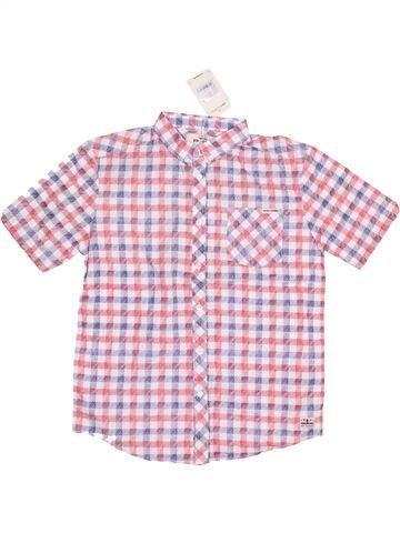 Chemise manches courtes garçon BEN SHERMAN rose 13 ans été #1444816_1