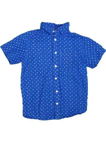 Chemise manches courtes garçon URBAN 65 OUTLAWS bleu 9 ans été #1444827_1