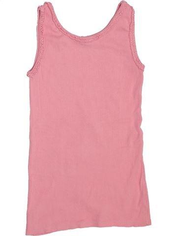 T-shirt sans manches fille I LOVE GIRLSWEAR rose 11 ans été #1444907_1