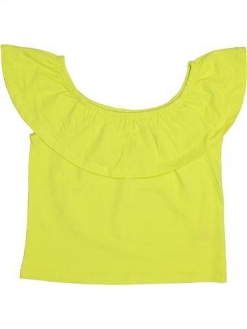 Camiseta de manga corta niña MISS E-VIE amarillo 12 años verano #1444974_1