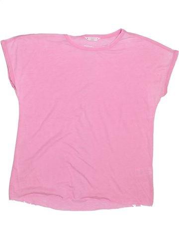 T-shirt manches courtes fille CANDY COUTURE rose 15 ans été #1445561_1