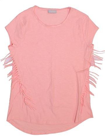 T-shirt manches courtes fille I LOVE GIRLSWEAR rose 13 ans été #1445692_1
