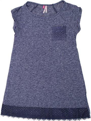 T-shirt manches courtes fille ORCHESTRA bleu 12 ans été #1446110_1
