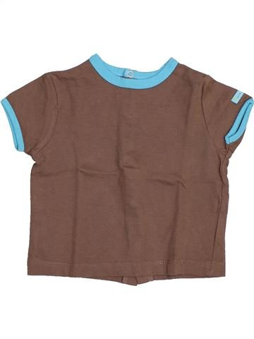 Camiseta de manga corta niño SUCRE D'ORGE violeta 12 meses verano #1446121_1