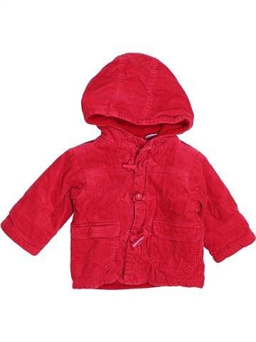 Abrigo niño LA REDOUTE CRÉATION rojo 6 meses invierno #1446350_1