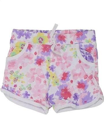 Short-Bermudas niña BABY blanco 2 años verano #1446405_1