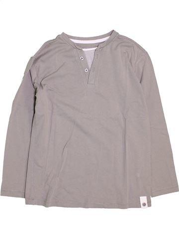 T-shirt manches longues fille VERTBAUDET violet 10 ans hiver #1446456_1