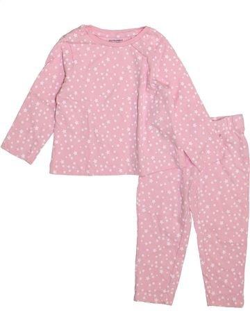 Pyjama 2 pièces fille VERTBAUDET rose 2 ans été #1446578_1
