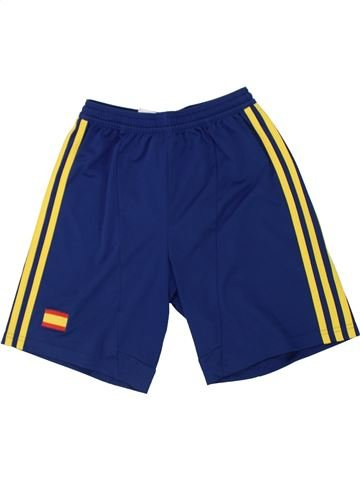 Pantalon corto deportivos niño ADIDAS azul 12 años verano #1446616_1
