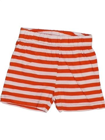 Short - Bermuda garçon DPAM rouge 3 mois été #1446721_1