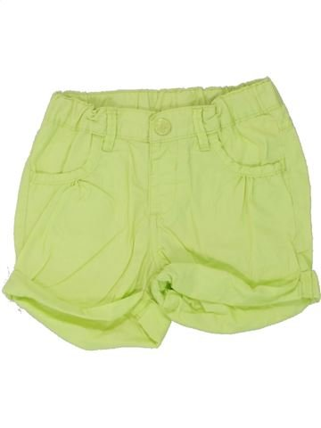 Short - Bermuda fille DOPODOPO vert 4 ans été #1446723_1