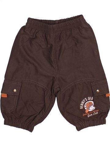 Pantalón niño PETIT BATEAU marrón 3 meses invierno #1446730_1