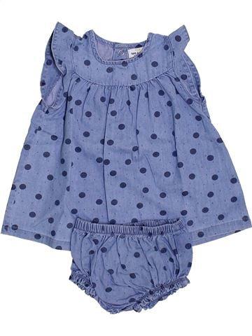 Vestido niña TAPE À L'OEIL azul 3 meses verano #1446926_1