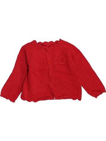 Chaleco niña BOUT'CHOU rojo 6 meses invierno #1446980_1