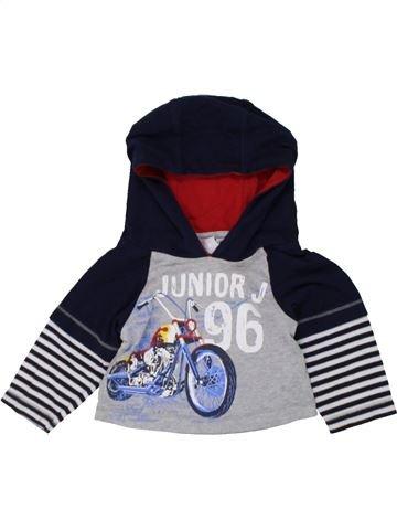 T-shirt manches longues garçon JASPER CONRAN gris 6 mois hiver #1447197_1