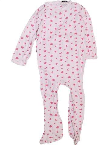 Pyjama 1 pièce fille KIABI blanc 2 ans été #1447362_1