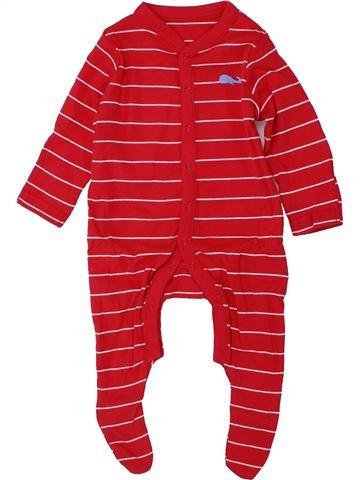 Pyjama 1 pièce garçon MOTHERCARE rouge 6 mois été #1447593_1
