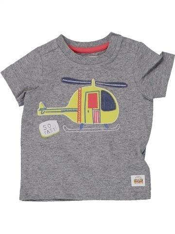 Camiseta de manga corta niño MOTHERCARE gris 9 meses verano #1447619_1