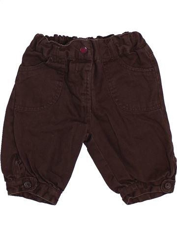 Pantalon fille KIMBALOO marron 6 mois hiver #1447680_1