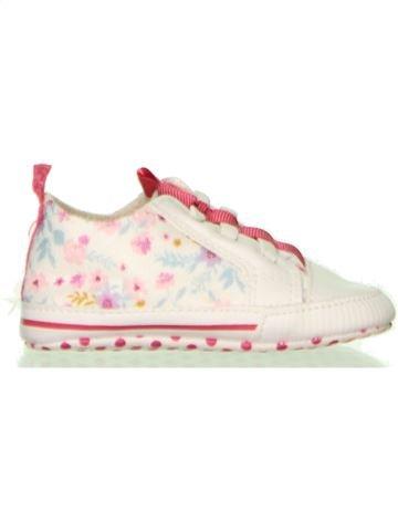 Zapatos bebe niña MOTHERCARE blanco 16 verano #1447685_1