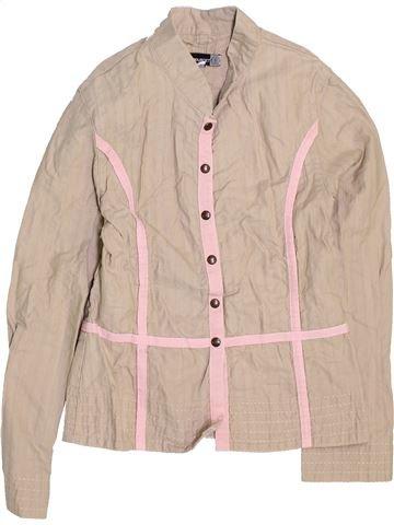 Blusa de manga larga niña JEAN BOURGET beige 8 años invierno #1447823_1