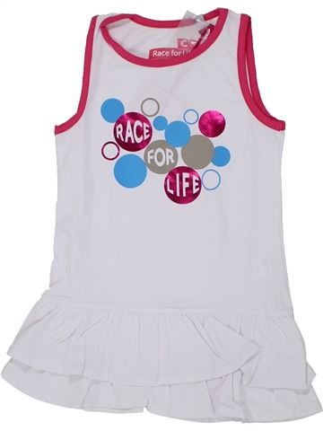 Robe fille RACE FOR LIFE gris 4 ans été #1448040_1