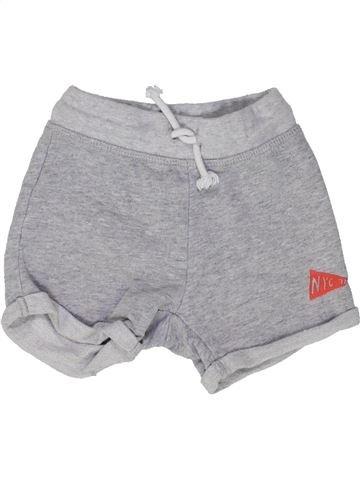 Short - Bermuda garçon H&M gris 18 mois été #1448213_1