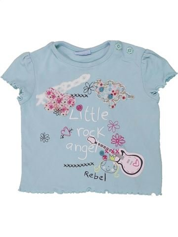 Camiseta de manga corta niña CHEROKEE azul 9 meses verano #1448595_1