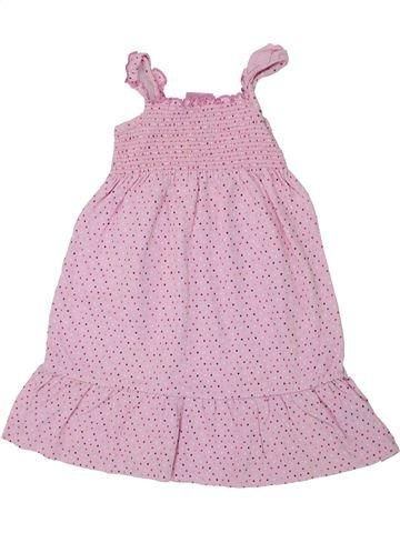 Vestido niña CHEROKEE rosa 4 años verano #1448633_1