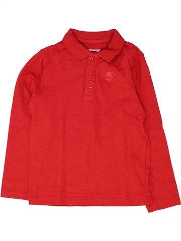 Polo de manga larga niño ORCHESTRA rojo 5 años invierno #1448801_1